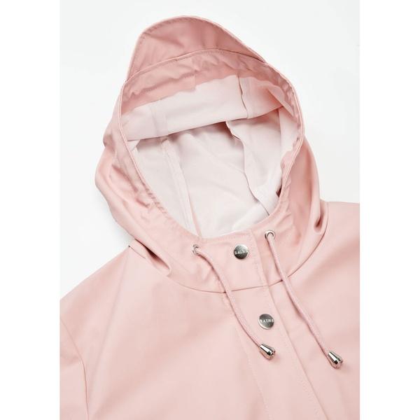 Rains Curve Jacket Rose
