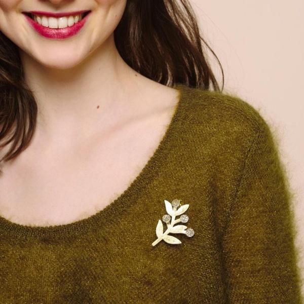 Pullover Colina Bronze