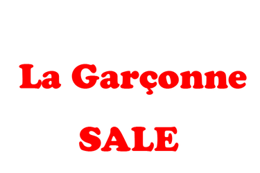 La Garconne Sale