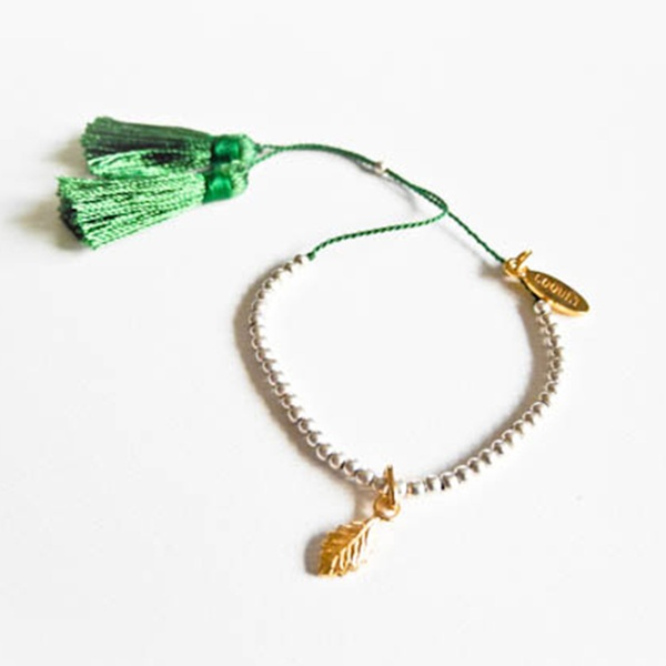 "Armband ""Leaf"" Gold"