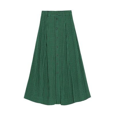 Maxi Skirt Foliage Green