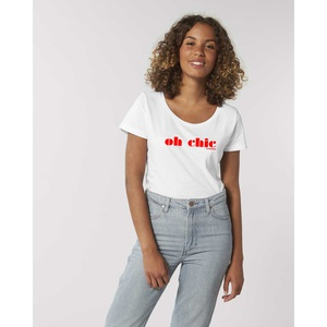 Oh Chic T-Shirt Weiss