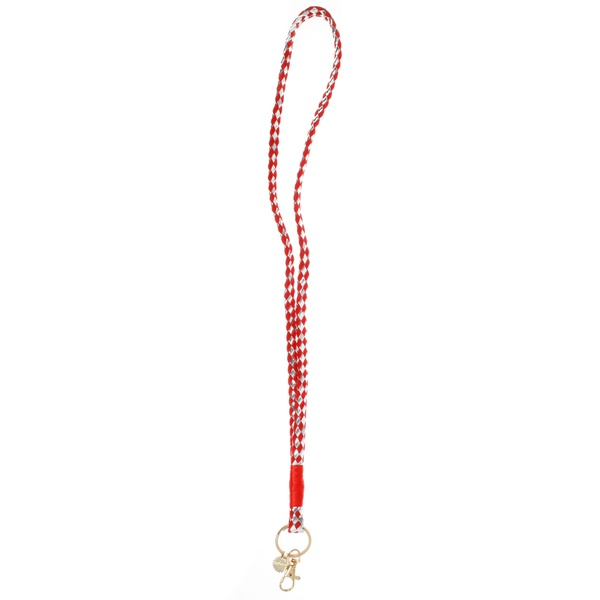 Keychain Silber / Rot