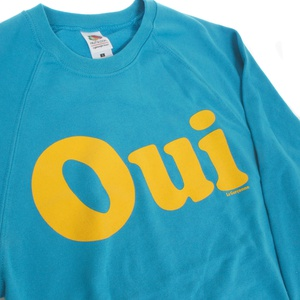 OUI Raglan Sweater azure Blue