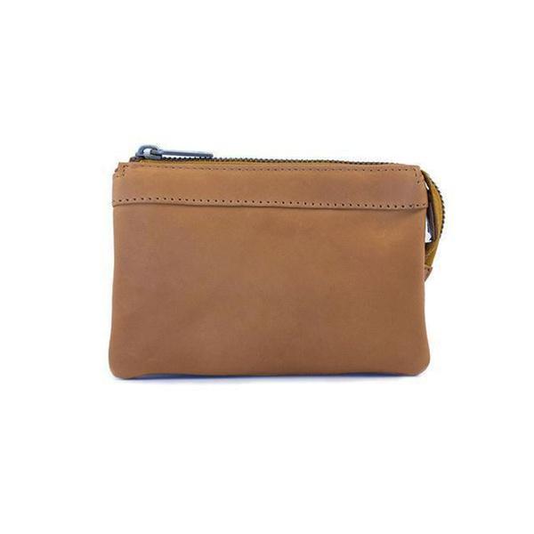 Dixie Tika Leather Wallet Soft Cognac