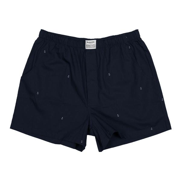 Resteröds Pyjama Shorts Navy / Anker
