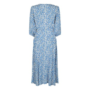 Elmina Short Dress Palace Blue