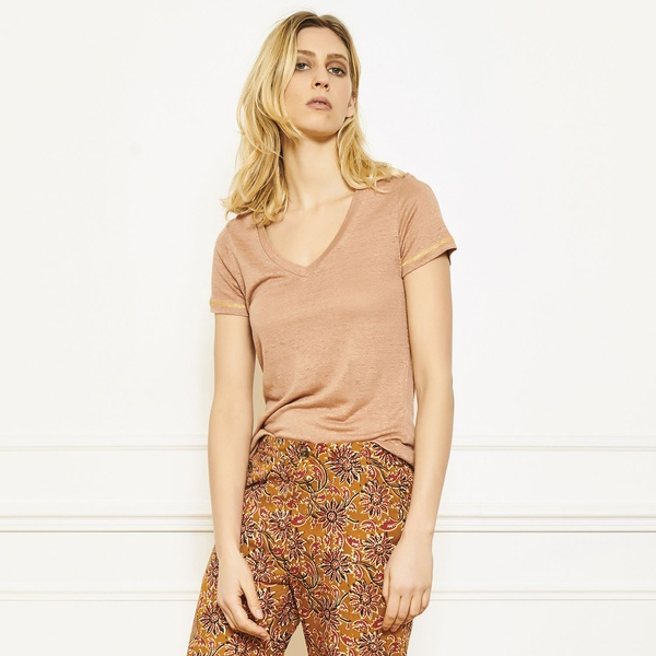 Temli T-Shirt Terracotta