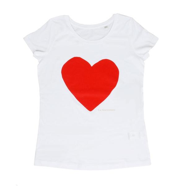 Herz T-Shirt Bio-Baumwolle