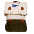 On y va Canvas Backpack nature / olive