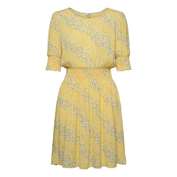 Kiyan Dress Sereia Yellow Print