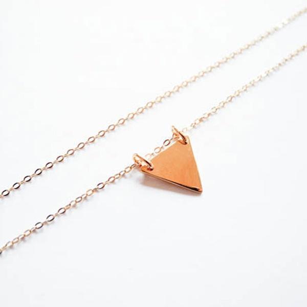Kette Triangel Gold