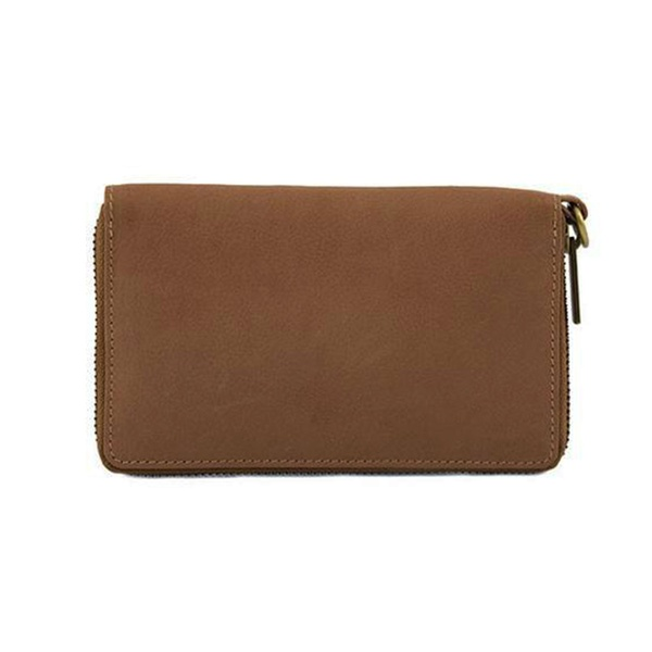 Dixie Wina Lux Leather Wallet Nougat