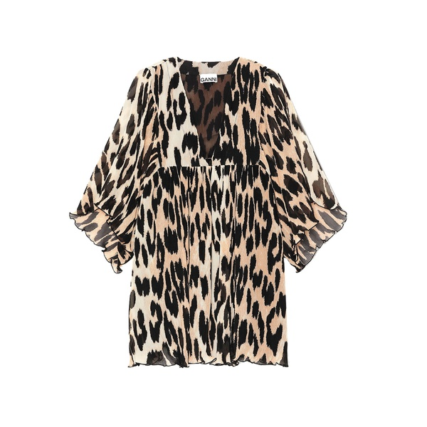 Oversized Mini Dress Leopard