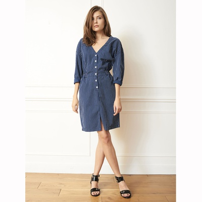 Riki Dress Indigo