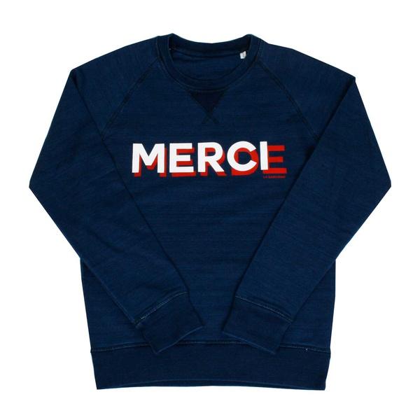 Indigo Sweater Merci-Merde