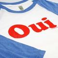 Baseballshirt OUI Blau