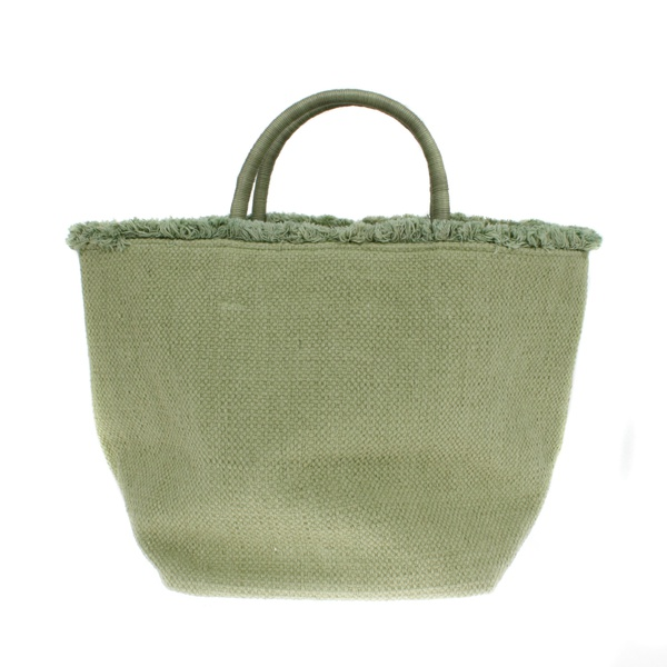 "Canvas Totebag "" Emilie"" Taupe"