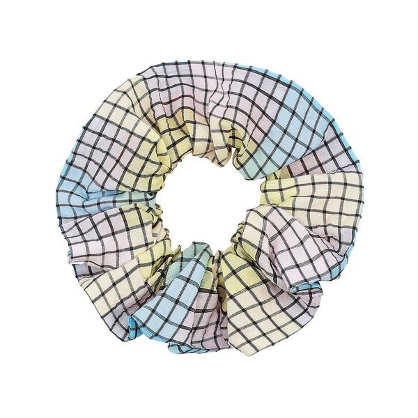Check Scrunchie Multicolor