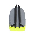 Packable Daypack Silver/Neon Yellow