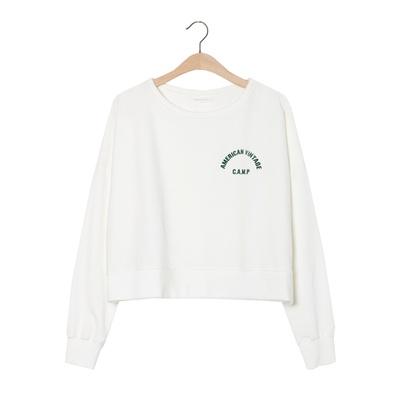 Sweatshirt Oligood Blanc