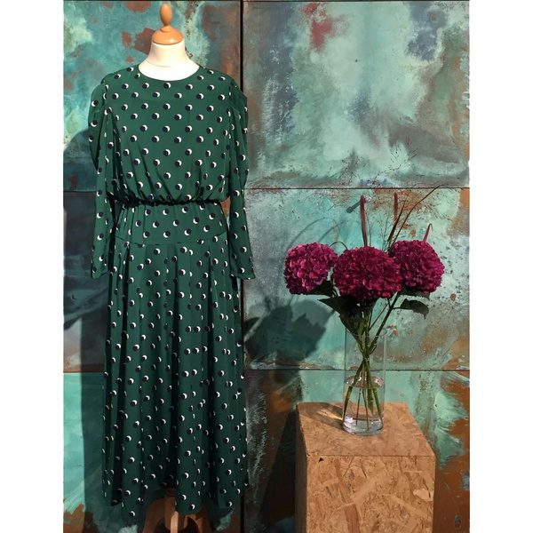 Choco Maxi Dress Green