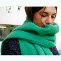 Vivid Colour Muffler Green