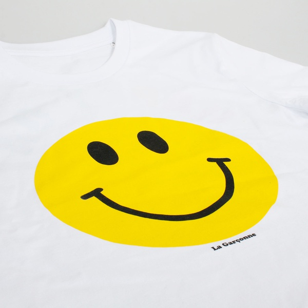 T-Shirt Happy Day Weiss