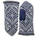 Hestra Nordic Wool Mitt Grau/Navy