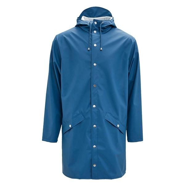 Long Jacket Faded Blue