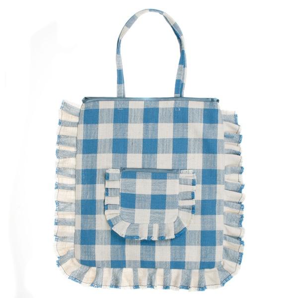 Picnic Shopper Blue