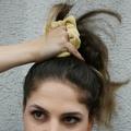 Velvet Haargummi Yellow