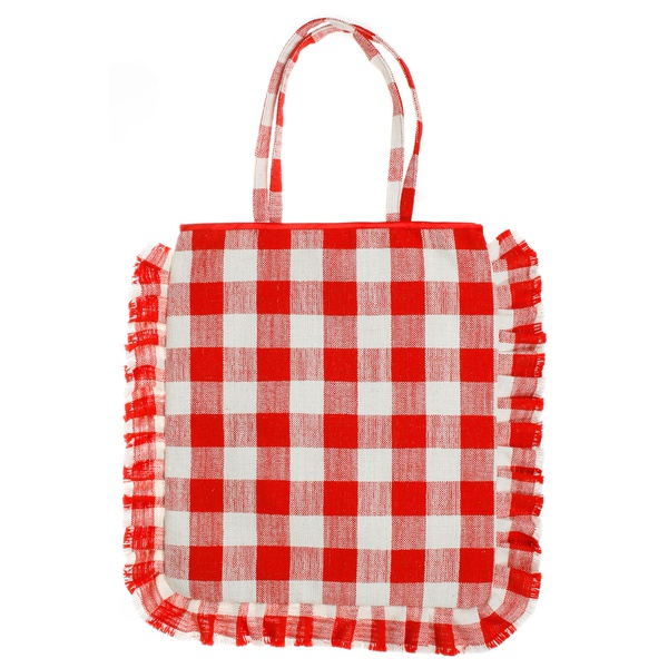 Picnic Shopper Red