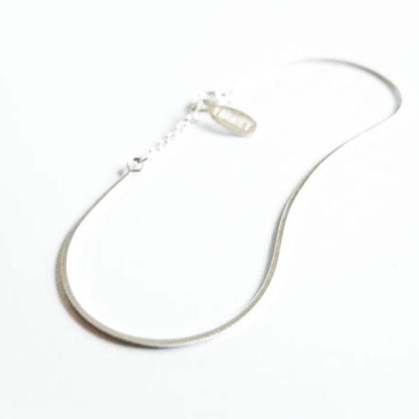 Sleek Armband Silber