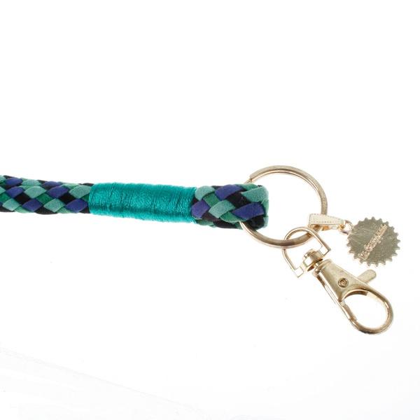 Keychain Grün / Blau / Schwarz