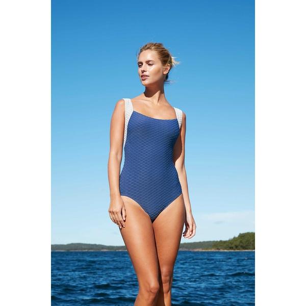 Paula Swimsiut Amalfi Tonga Blue