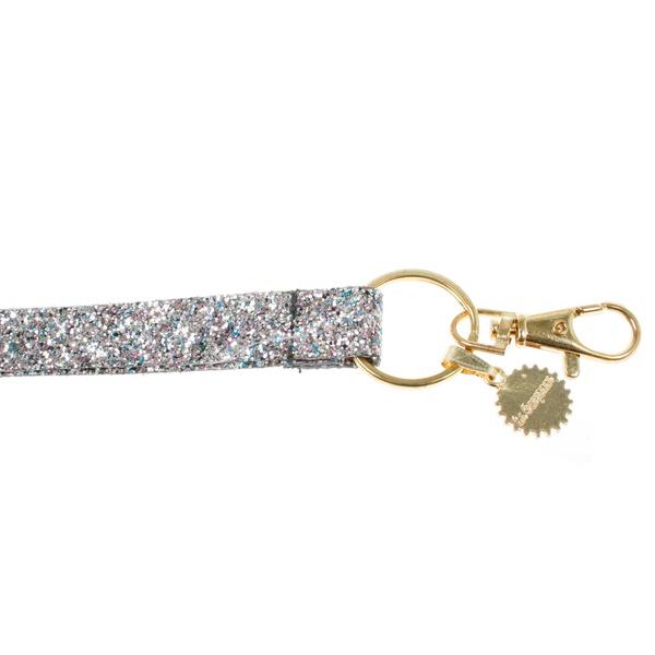 Schlüsselbändel Glitter Multi