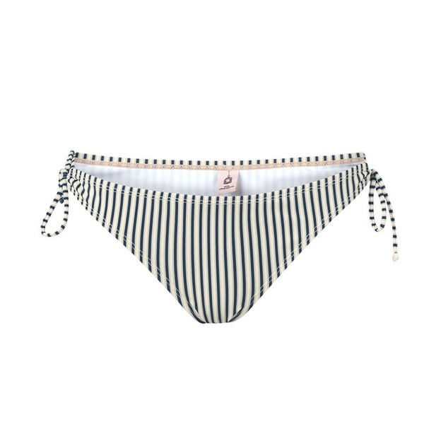 Bikini Striped Blue Nights Top und Bottom
