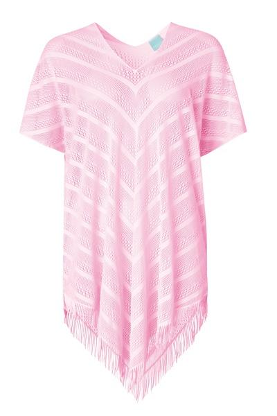 Paula Perfect Poncho Pink
