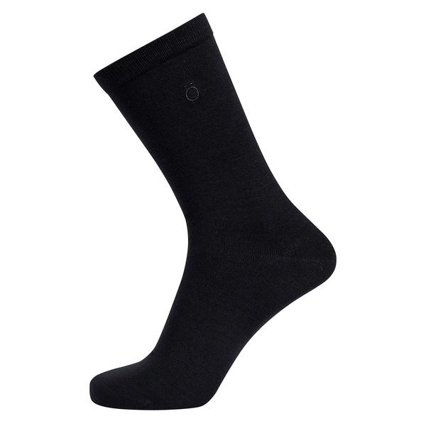 Bambus Socken 3er Pack Schwarz