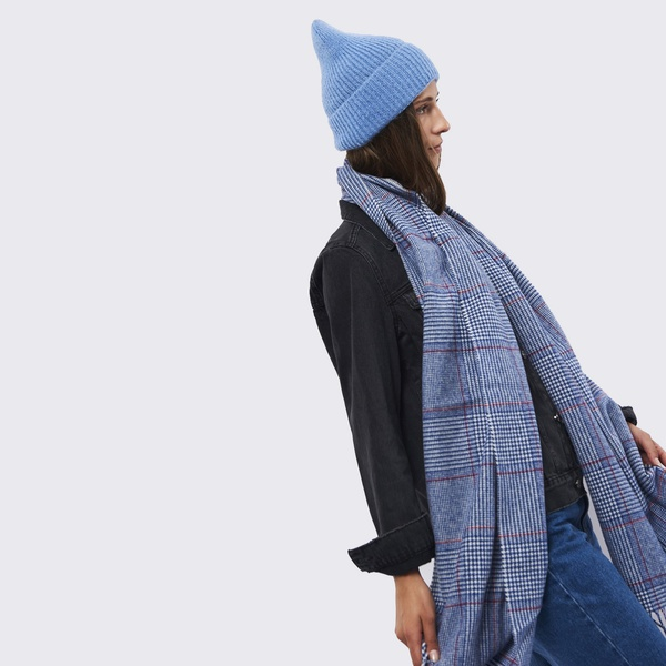 Jadia Mütze Dusty Blue