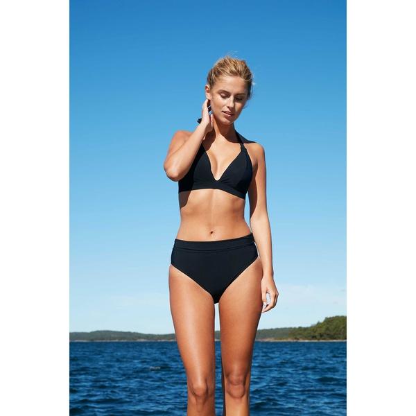 Blush Seaweed Bikini Black