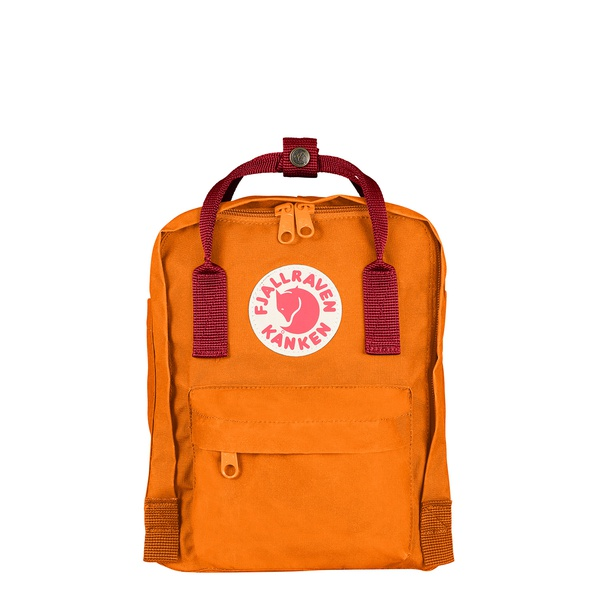 Mini Kanken Burnt Orange / Red