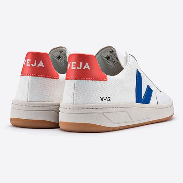 V-12 B-Mesh White Indigo Orange