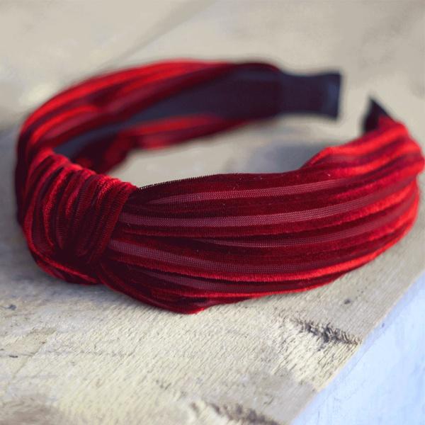 Hairband Love Red Love