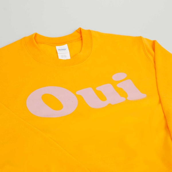 OUI Sweater Gold