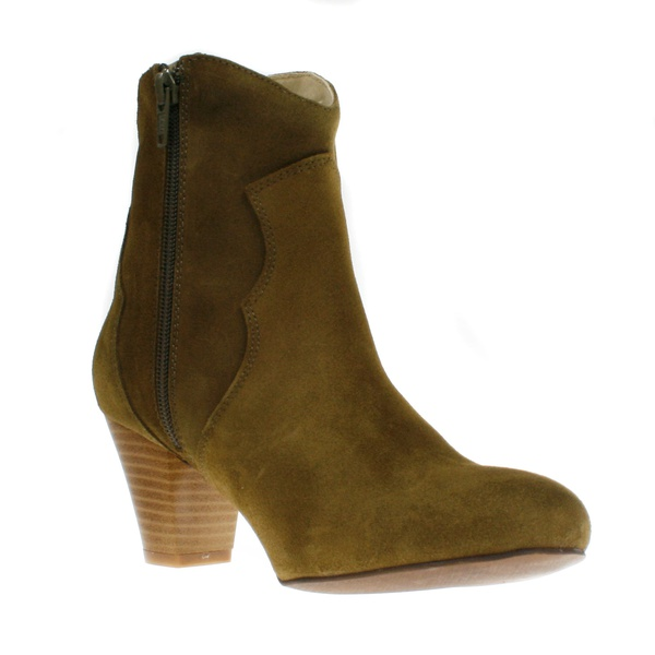 Stiefelette Claire Military Olive