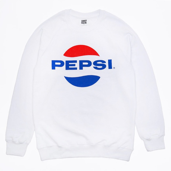 Sweatshirt Sweet Pepsi White