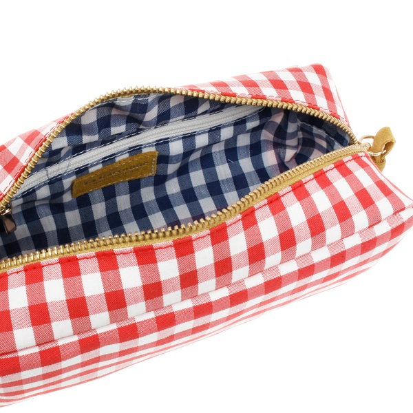 Necessaire Hazal red/white