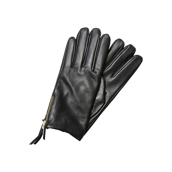 Duffi Leather Gloves Black